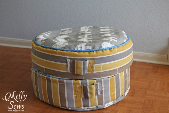 Sew Floor Cushions with Melly Sews