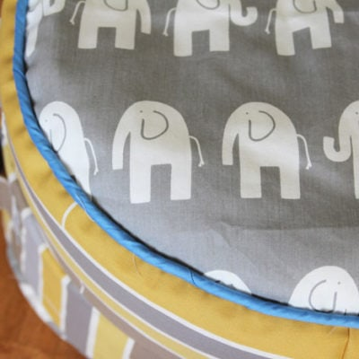 Project Redecorate: Sew Floor Pillows