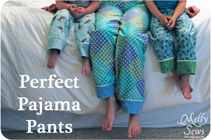 Project Sew Pajama Pants Melly Sews Magnificent Pajama Pants Pattern
