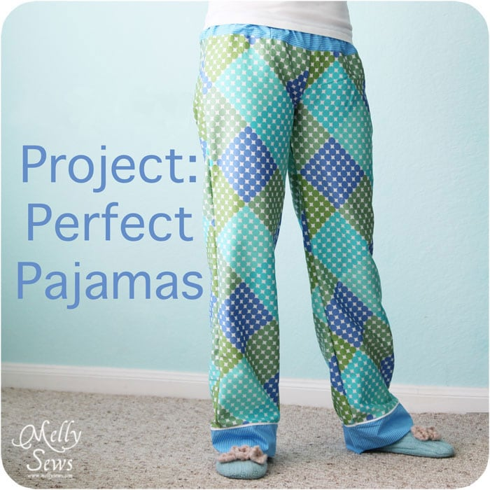 Draft and Sew Pajama Pants with Melly Sews