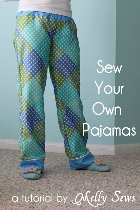 Project Sew Pajama Pants Melly Sews Best Pajama Pants Pattern