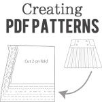 PDF Pattern Drafting Services and Lessons