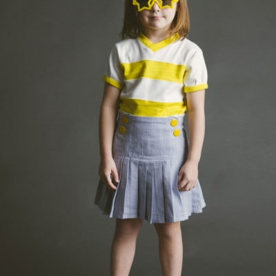 The Schoolday Skirt Sewing Pattern Now Available!