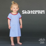 Skater Dress by Kitschy Coo sewn by Melly Sews