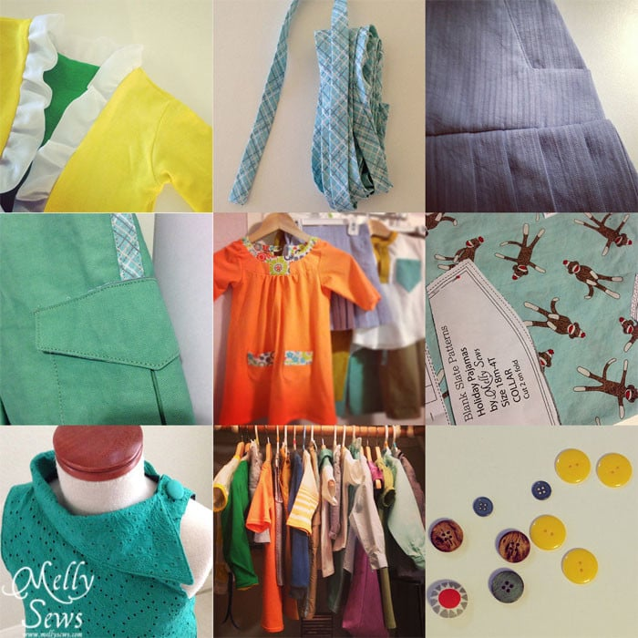 spring sewing patterns by Blank Slate Patterns