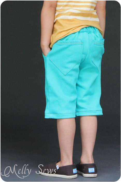 Clean Slate Shorts in bright teal for spring