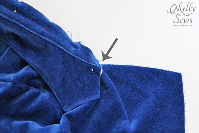 How to Sew a Blazer - Set in Sleeves and Collar