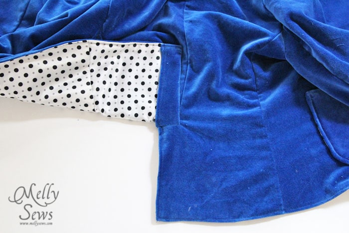 How to Sew a Blazer - Lining and Finishing