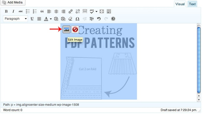 How to Make a Blog Button tutorial