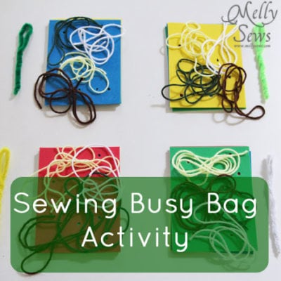 Sewing Busy Bag Activity
