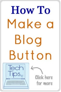 How to Make a Blog Button tutorial