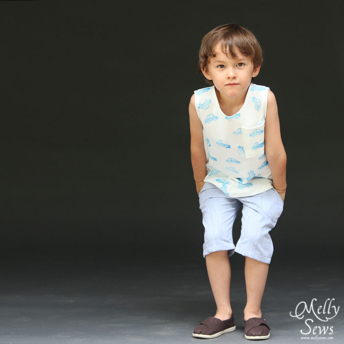 Boys PDF sewing patterns by Blank Slate Patterns