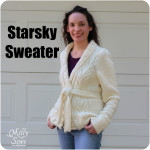 Starsky Sweater knitted by Melly Sews