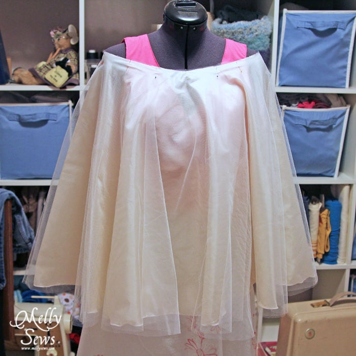 Tulle Skirt Tutorial by Melly Sews