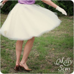 How to Sew a Tulle Circle Skirt
