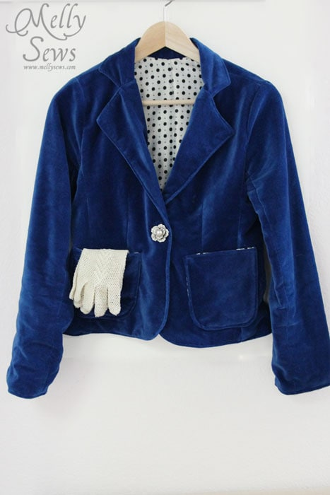 Womens Blazer Pattern And Blazer SewAlong Melly Sews Impressive Blazer Pattern