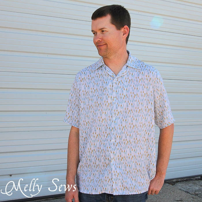 Men's Shirt Pattern by Blank Slate Patterns
