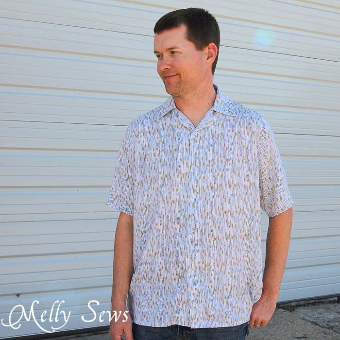 Men's Shirt Pattern by Blank Slate Patterns