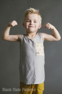 Blank Tank PDF Sewing Pattern for boys and girls by Blank Slate Patterns