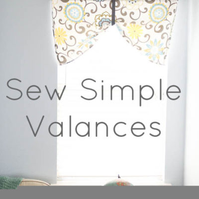 Project Redecorate: Sew Curtains