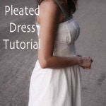 Pleated Dress Tutorial by Melly Sews - flattering sundress from a rectangle