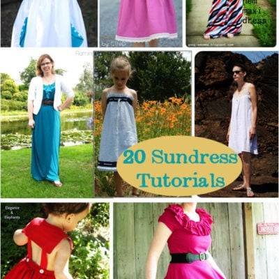 Sew a Sundress – 20 Tutorials