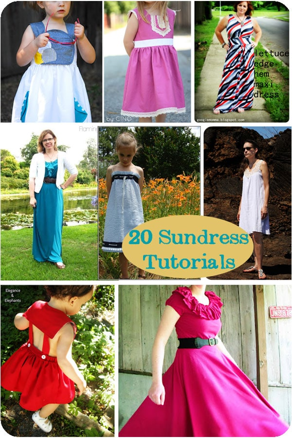 Sew A Sundress 20 Tutorials Melly Sews