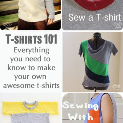 Sewing T-shirts