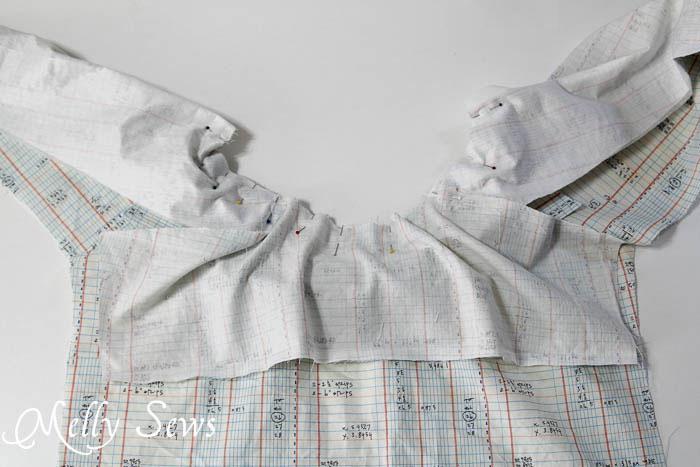 Sew neckline