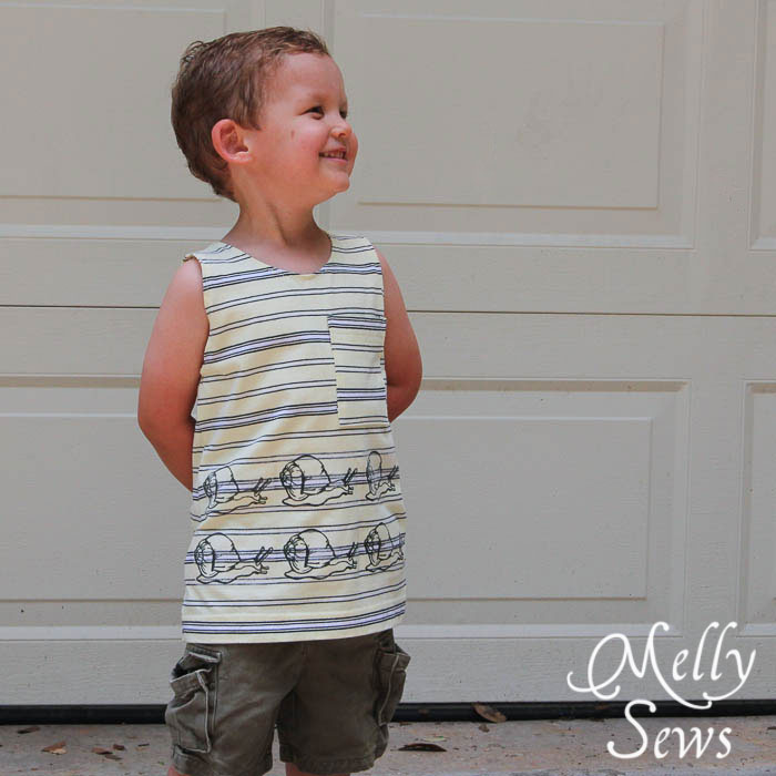 Snail Shirt Knock Off by Melly Sews
