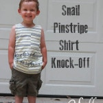 Snail t-shirt knock off with free printable iron on t-shirt transfer by Melly Sews