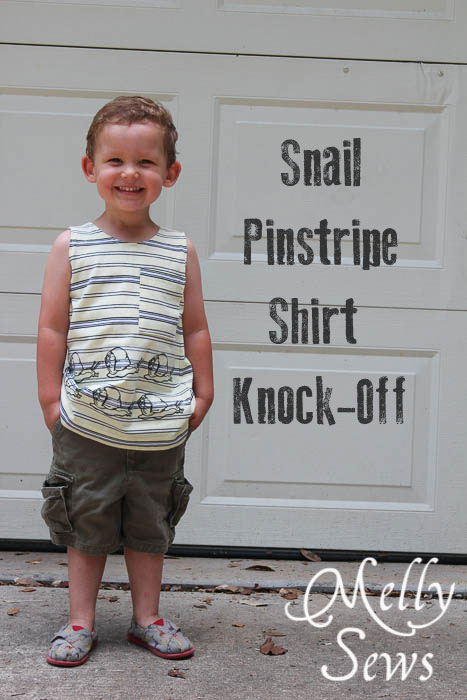 Snail t-shirt knock off with free printable t-shirt iron on transfer by Melly Sews