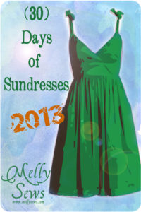 (30) Days of Sundresses Series - 30 tutorials to Sew a Sundress - June 1-30 at mellysews.com