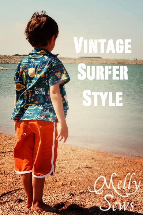 Vintage Surfer Style by Melly Sews