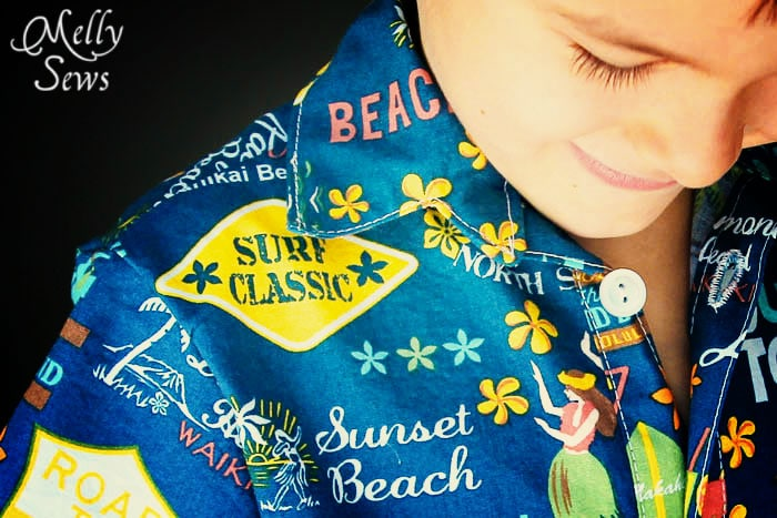 Hawaiian Shirt by Melly Sews