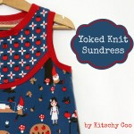 yoked knit sundress teaser