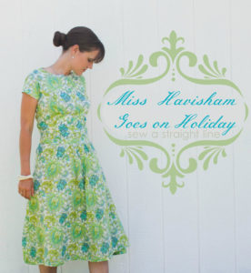 Miss Havisham Goes on Holiday by Sew a Straight Line for Melly Sews (30) Days of Sundresses