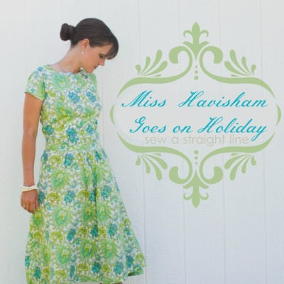 Sundress Series – Miss Havisham on Holiday Sundress Tutorial by Sew a Straight Line
