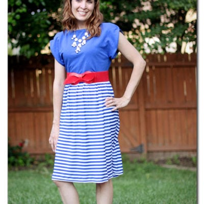 Sundress Series – Patriotic Sundress Tutorial by Sugar Bee Crafts