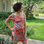 Sunset Sundress Tutorial by Seamingly Smitten for Melly Sews (30) Days of Sundresses