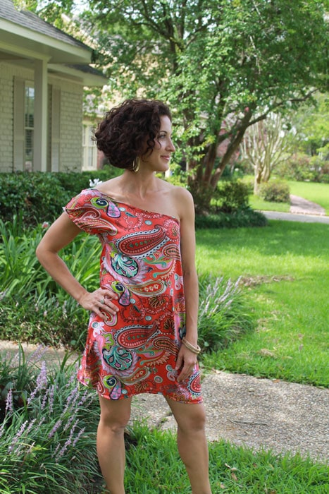 Sunset Sundress Tutorial by Seamingly Smitten for Melly Sews (30) Days of Sundresses