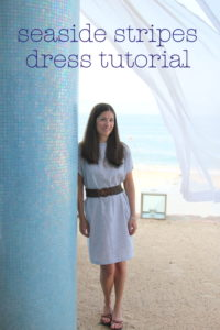 Seaside Stripes Sundress Tutorial by kojo designs for Melly Sews (30) Days of Sundresses