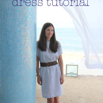 Sundress Series – Seaside Stripes Sundress Tutorial with kojo designs