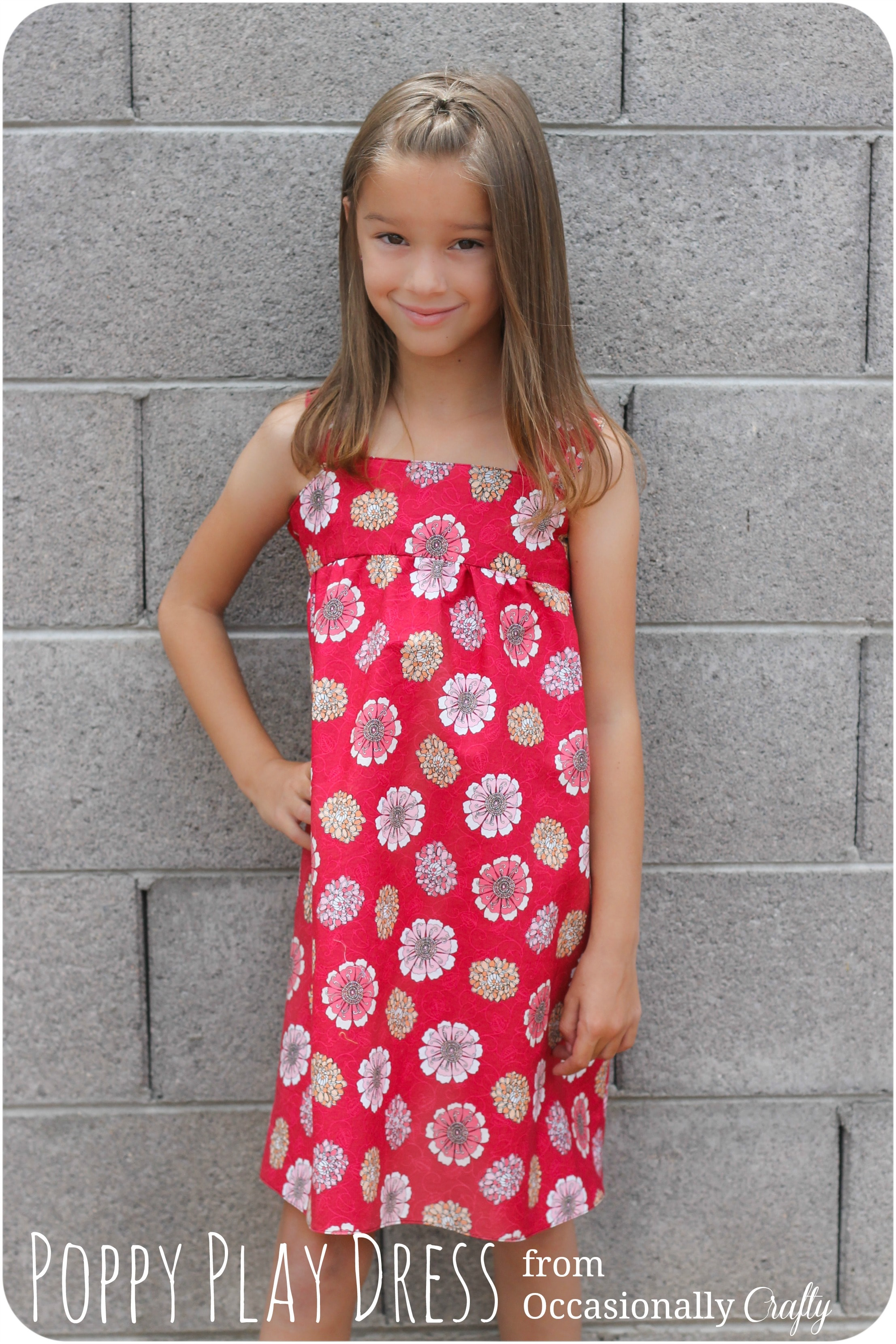 Poppy Play sundress tutorial from Occasionally Crafty for Melly Sews (30) Days of Sundresses