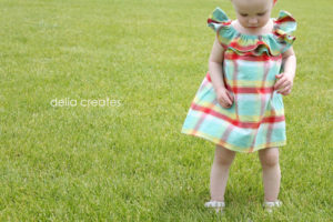 Ruffled Collar Sundress Tutorial by Delia Creates for Melly Sews (30) Days of Sundresses