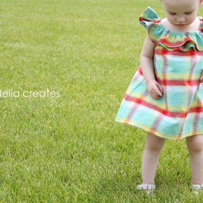 Sundress Series – Ruffle Collar Sundress Tutorial by Delia Creates