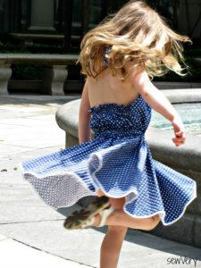 Halter Sundress by sewVery for Melly Sews (30) Days of Sundresses