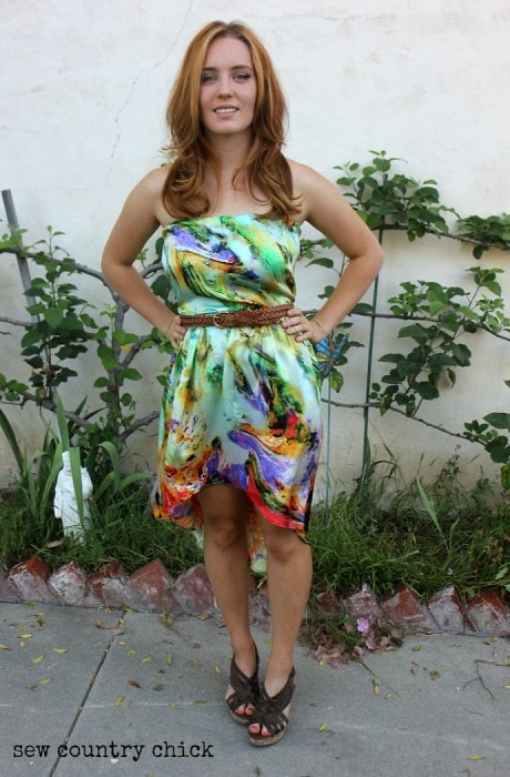 Sundress Series - High Low Sundress by Sew Country Chick on Melly Sews