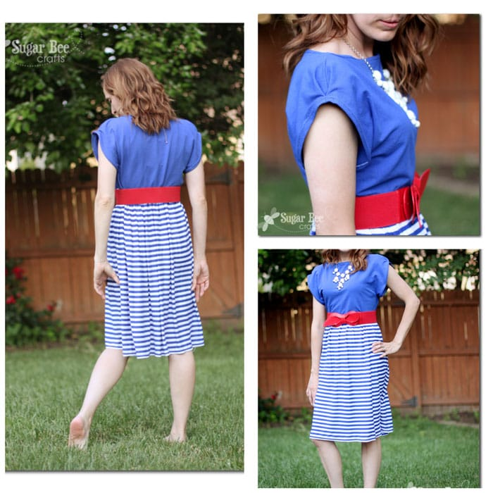 Collage Patriotic Knit Sundress Tutorial by Sugar Bee Crafts for Melly Sews (30) Days of Sundresses