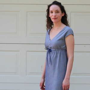 Striped Maxi Sundress Tutorial - free pattern